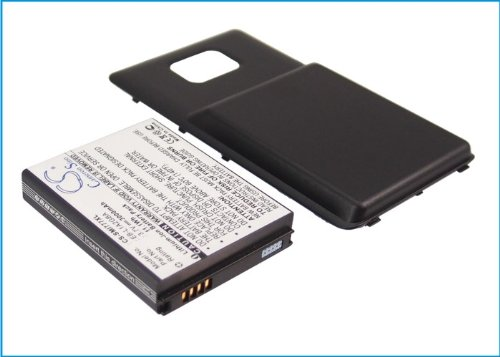 3000mAh Battery Replacement for Samsung Attain, Galaxy S II 4G, SGH-I777, P/N EB-L1A2GBA, EB-L1A2GBA/BST