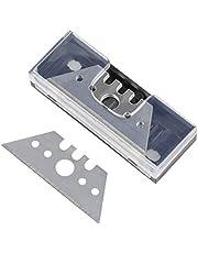 Wolfcraft 4185000 Professionella Trapesformade Blad, Silver, 0.5 x 52 mm, Paket med 5
