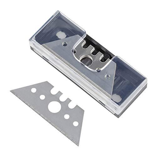Wolfcraft 4185000 - 5 cuchillas trapezoidales 0,50x52mm