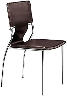 Zuo Trafico Dining Chair (Set of 4), Espresso