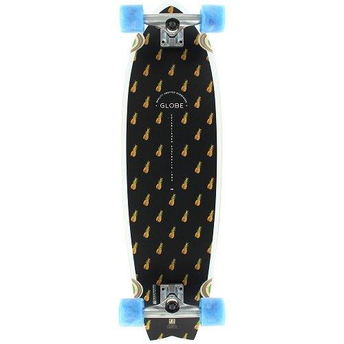 GLOBE Skateboards Chromantic Cruiser Complete Skateboard, Black Pineapple