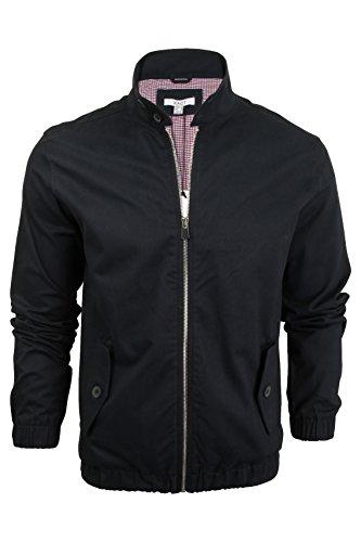 Xact Mens Classic Harrington Jacket Coat MOD (Navy) M