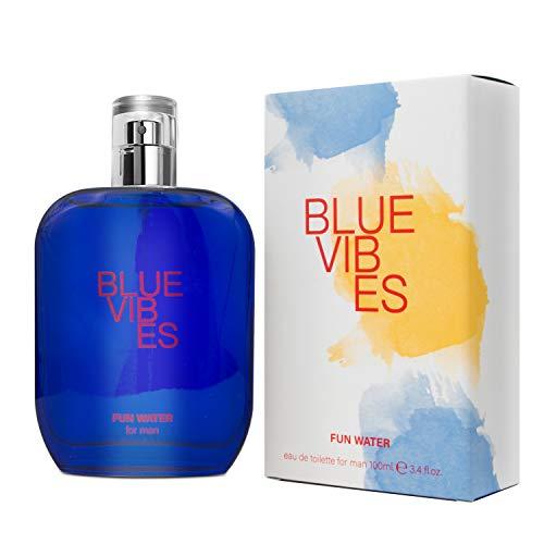 Fun Water, Blue Vibes Fragrance for Men, profumo da uomo, 100 ml