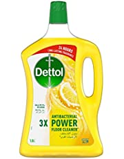 Dettol Lemon Antibacterial Power Floor Cleaner 1.8L