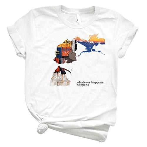 Spike Spiegel - Whatever Happens 14 - Unisex T-Shirt for Men Or Women Vintage Retro Shirt for Customize