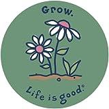 Life is good. 4' Sticker - Grow