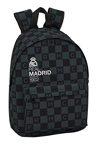 Real Madrid Bestlife Equipaje-Maletas, Color Negro (SAFTA 641985808)