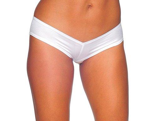 BODYZONE Women's Super Micro Panty, White, One Size