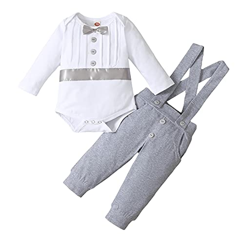 FYMNSI Traje de bautizo para bebé, traje de bautismo, traje de boda,...