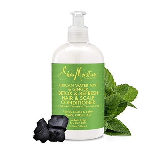Price comparison product image Shea Moisture African Water Mint Detox & Refresh Conditioner,  13 Fluid Ounce
