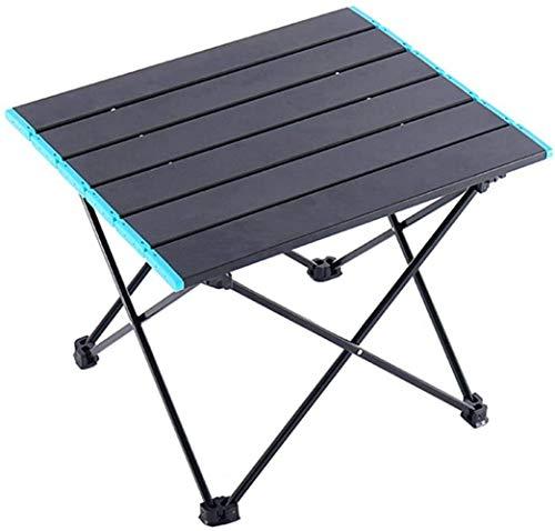 Campingtisch Klappbar aus Aluminium Leichtgewichttisch Campingmöbel Klapptisch Gartentisch Falttisch für Camping Picknick Angeln Reisetisch 41x34.5x29cm Beistelltisch Kaffeetisch Zusammenklappbar
