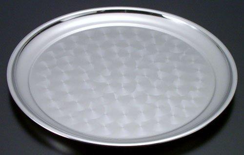 遠藤商事 業務用 ステンレスラセン入丸盆 10インチ 18-0ステンレス 日本製 EML02010