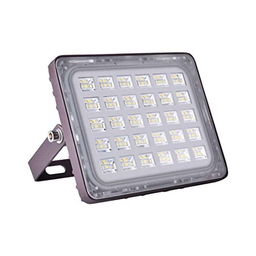 Viugreum Faretto di Versione Cielo Stellato 30W / 50W / 100W / 150W Impermeabile LED per esterno Lampada Luce Potente Super Luminosa a Basso Consumo da Parcheggio Giardino Hotel (Bianco Freddo, 30W)