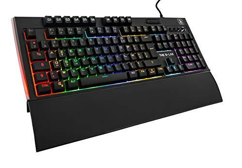 THE G-LAB Keyz Tellurium Teclado Gaming QWERTY Incluye