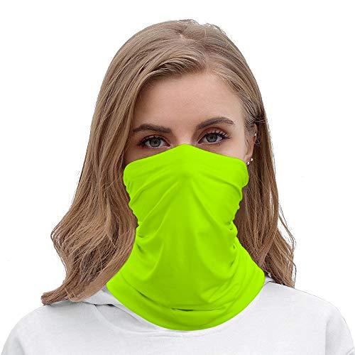 Morf Contour  Unisex New Electric Yellow Snood Buff Headwear Neckwear