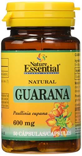 Guarana 600 mg. 50 capsulas