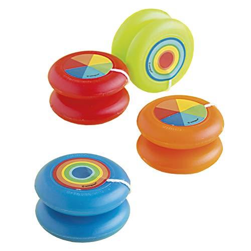 Unique Party 84793 - Regalini per Feste - Yo-yo di Plastica - Confezione da 4