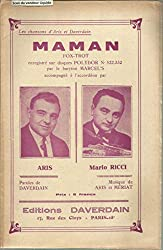 Maman - Fox trot enregistré par le baryton Marcel\'s accompagné à l\'accordéon par Aris et Mario Ricci
