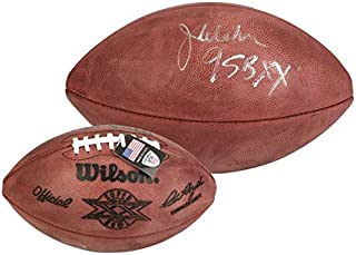 "Jim McMahon Chicago Bears Autographed Super Bowl XX Duke Pro Football with""SB XX"" Inscription - Fanatics Authentic Certified"
