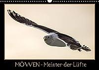 Moewen - Meister der Luefte (Wandkalender 2022 DIN A3 quer): Moewen in ihrer natuerlichen Umgebung. (Monatskalender, 14 Seiten )