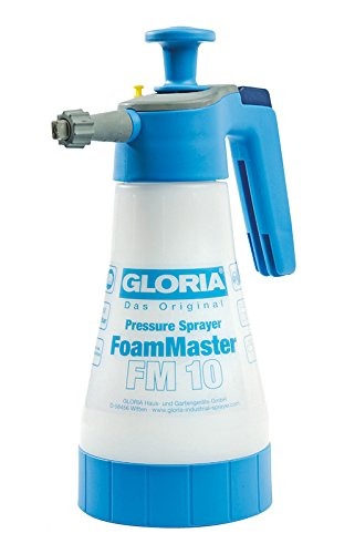 Gloria FoamMaster FM 10, 1 Litre Foam Pressure Sprayer, White, Action