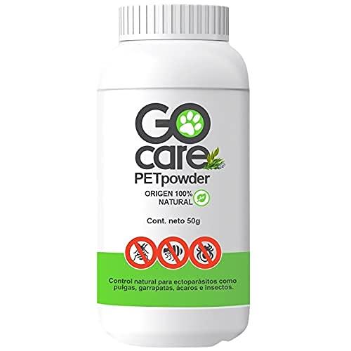 PETpowder - Control 100% Natural contra pulgas y garrapatas para Mascotas. No tóxico.