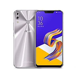 """Asus ZS620KL-S845-6G64G-SL - 6.2"""" FHD+ 2160x1080 Display - 6GB RAM - 64GB Storage - LTE Unlocked Dual SIM Cell Phone, Silver (B07CLWGC3T) 