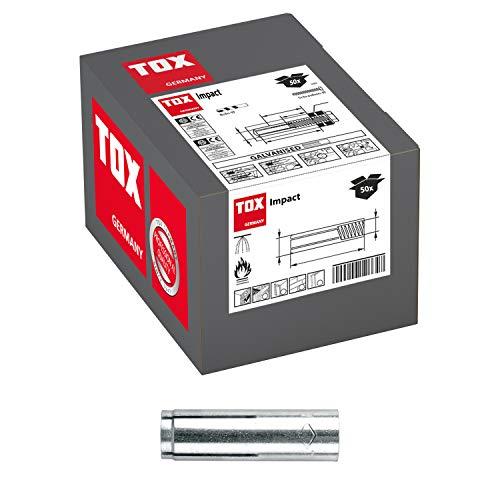 TOX Einschlaganker Impact 10 x 40 mm, 50 Stück, 02910005