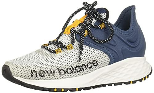 New Balance Fresh Foam Roav Trail V1, Zapatillas para Carreras de montaa Hombre, Color Blanco, 42.5 EU