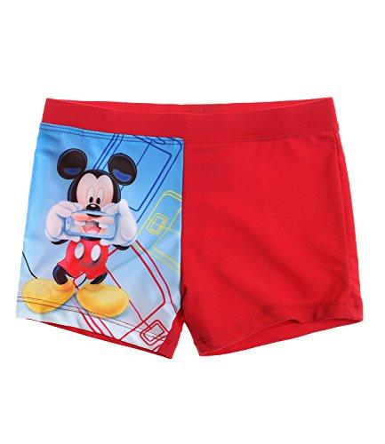 Disney Mickey Jungen Badehose - rot - 110