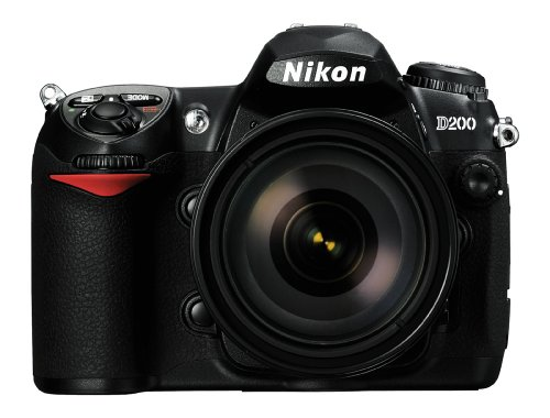 Nikon D200 DSLR Camera with 18-200mm f/3.5-5.6G ED-IF AF-S Nikkor Zoom Lens (OLD MODEL)