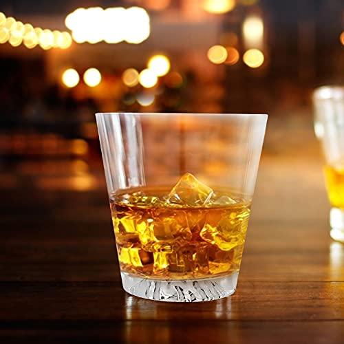 Taza de whisky, vidrio hecho 300 ml Material de vidrio Vacío Viaje aislado para el uso de la barra de inicio