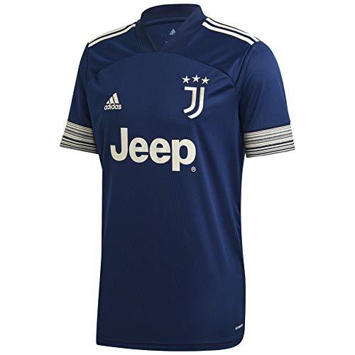 adidas Juventus Mens SS Away Shirt 2020/21 (M) Navy/White