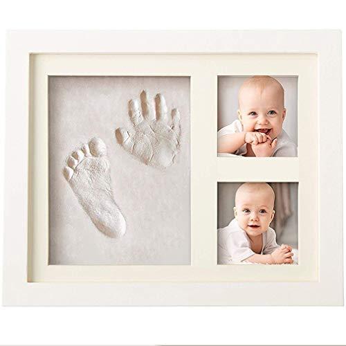 XY399 graden Baby fotolijst Kit & Handprint fotolijst Voor Pasgeboren Meisjes En Jongens Baby Fotoalbum Voor Douche Register Gepersonaliseerde Baby Geschenken