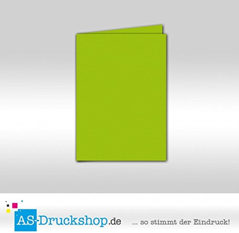 Faltkarte Doppelkarte - Apple 50 Stück DIN A5 B0794X1KT6   | Klein und fein