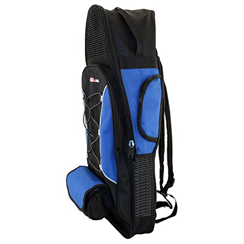 PROMATE Backpack Style Bag For Mask, Snorkel, & Fins Scuba Diving Gear Snorkeling Surfing Travel Overnight Back Pack Bag