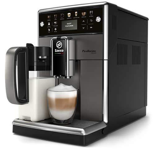 Philips Saeco SM5572/10 Coffee Machine, Kunststoff, Anthrazit, Schwarz