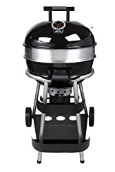 Jamie Oliver 552669 BBQ Classic premium charcoal grill with castors stainless steel, black