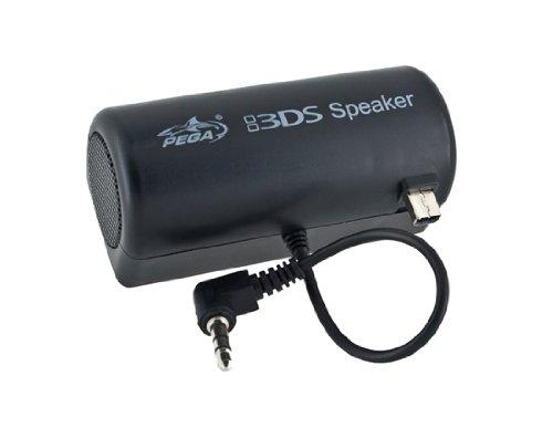 Plug Stereo Amplifier altavoz externo para Nintendo 3DS (Negro)