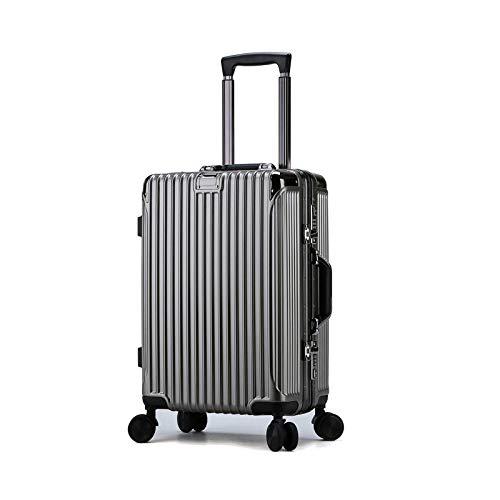 Find Discount JYKING.20 inch-26 inch Suitcase, Universal Wheel Lock Box Gold Mine 26Inch