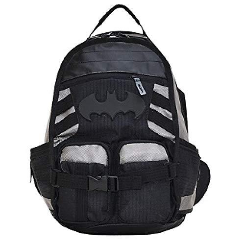Sac à Dos Batman Daily Laptop Bag Adolescent Cartable Garçons Filles Cosplay Sac À Dos Mochila Hommes Femmes Voyage Sac-Homme Chauve-Souris