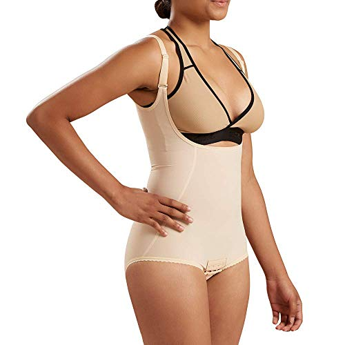 Marena Recovery Panty-Length Compression Girdle with High-Back, Step 2 (pull on)