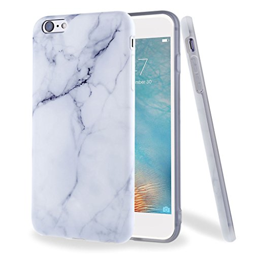Leathlux Custodia per iPhone 6s Plus / 6 Plus, Premium Marmo Modello Morbido TPU Custodie Protettivo Bumper Flessibile Silicone Gel Ultra Sottile Cover per Apple iPhone 6s Plus / 6 Plus 5.5'