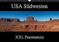 USA Suedwesten - XXL Panoramen (Wandkalender 2022 DIN A3 quer): Impressionen aus den Nationalparks im Suedwesten der USA im XXL Panoramaformat (Monatskalender, 14 Seiten )