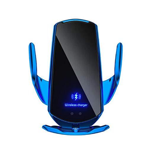 Taloit Cargador de coche inalámbrico, sensor automático inalámbrico, soporte de teléfono y cargador inalámbrico para coche