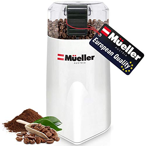 Mueller Austria HyperGrind Precision Electric Spice/Coffee Grinder Mill with Large Grinding Capacity and HD Motor also for Spices, Herbs, Nuts,...