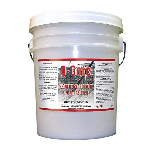 Q-Cote - Paraffin-based - Concrete Form Release Agent-5 gallon pail