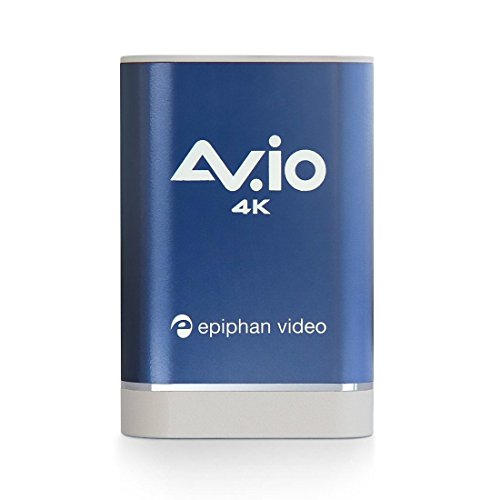 AV.io 4K – Grab and Go USB Video Capture for HD 1080p 60 fps and UHD 4K 30 fps