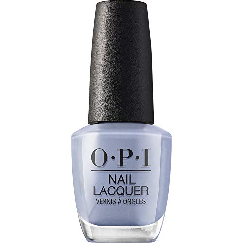 OPI Nail Lacquer, Check Out the Old Geysirs, Blue Nail Polish, Iceland Collection, 0.5 fl oz