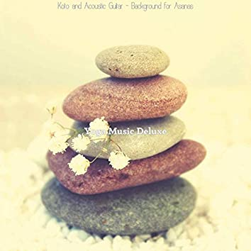 Koto and Acoustic Guitar - Background for Asanas